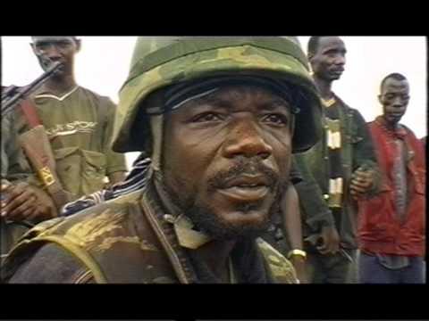 Война в Либерии  Тейлор торговля оружием (видео)