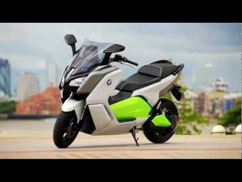 BMW C Evolution, el Scooter eléctrico