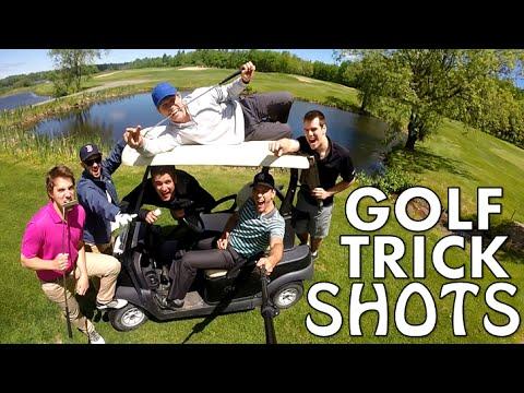 golf - trick shots