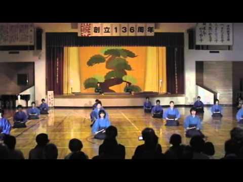 櫛引東小学校「黒川能」