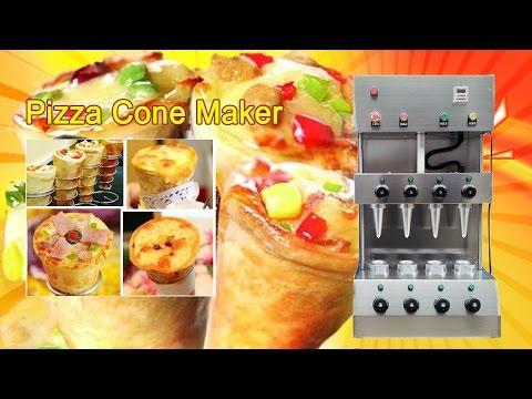 Pizza cone maker | How to Make Pizza Cones | Pizza cone oven machine