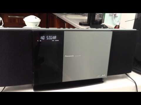 Panasonic SC-HC30DBEBS DAB/Radio/CD System with hidden iPod/iPhone Dock