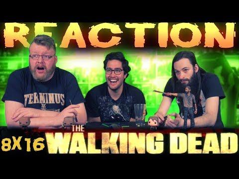 The Walking Dead 8x16 FINALE REACTION!!