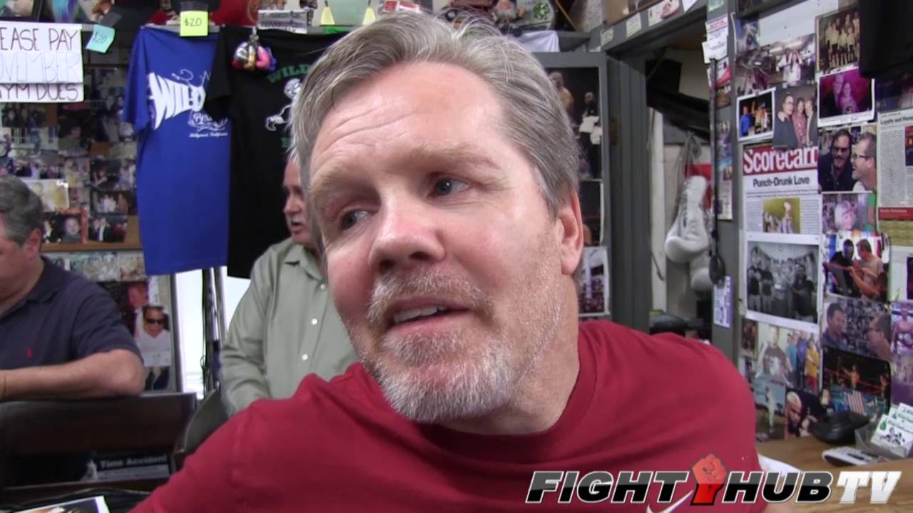 Freddie Roach plays word association game w/Boxing's greatest fighters!