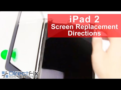 directfix - http://www.directfix.com/category/IPAD.html presents the iPad 2 screen repair and glass repair directions. Apple iPad 2 screen repair video directions on You...