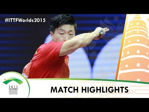 WTTC 2015 Highlights: MA Long vs FAN Zhendong (1/2)