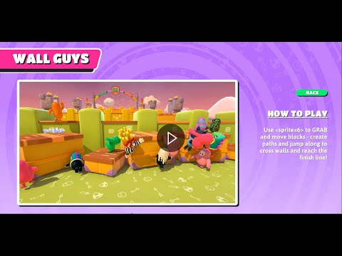 Fall Guys Season 2 New Stages   Wall Guys   Gameplay