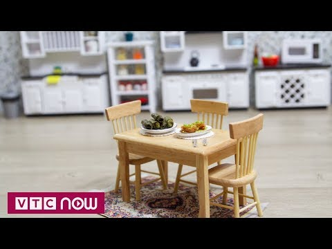 Độc lạ bộ đồ nhà bếp mini siêu dễ thương | VTC1 - Thời lượng: 2 phút, 48 giây.