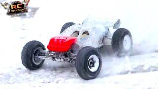 RC ADVENTURES - LOSI 8T / SNOW BALL DRIFTS BETTER THAN DRIFTER ON ROAD