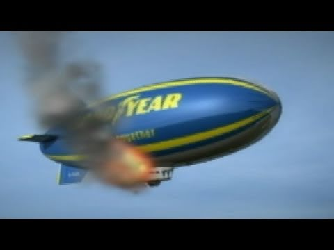Good Year Blimp Pilot Saves Passengers in Germany, Then Dies in Crash