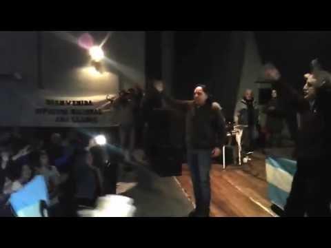 Militancia K: Guillermo Moreno disertó en