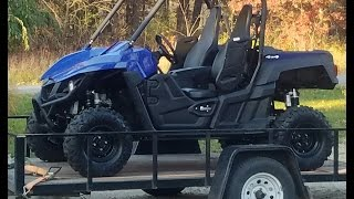 8. First ride in the Yamaha Wolverine and its a rough one!
