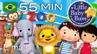 Os melhores vídeos educativos no YouTube - belíssima e colorida animação 3D em fantástico HD! Grande compilação da LBB! Agora disponível para compra/descargahttps://bamazoo.com/littlebabybumbrazilBrinquedos: http://littlebabybum.com/shop/plush-toys/© El Bebe Productions Limited00:04 Canção do Zoo01:58 Gira, gira a roda03:27 Faça um bolo04:25 Canção do Sorvete05:48 Dez Pequenos Animais07:07 Canção do Jogo de Esconde08:30 As Formigas Marcham10:12 Bingo - Versão 212:30 A Família dos Dedos - Gatos13:35 As rodas do ônibus - Versão 315:26 A Família dos Dedos - A Família Panda17:28 A Canção de Vestir19:00 Humpty Dumpty20:28 Está Chovendo e Muito21:34 A Dona Aranha - Versão 223:00 A canção do trem com os números de 1 a 2025:08 A Senhora Juninho26:42 Abra, Feche28:21 Canção do Troninho29:41 Canção de Lavar as Mãos31:22 Canção as cores do arco-íris32:56 A Canção das Formas34:55 Cinco Monstrinhos36:33 Canção Vamos Nadar38:19 Dizendo as Horas (Que Horas São)39:58 Cinco Macaquinhos - Versão 242:11 Este Porquinho43:51 Hickory Dickory Dock45:09 Canção Arrumação46:51 A Ponte de Londres48:38 Brilha Brilha Estrelinha - Parte 3 - Índia50:33 Cabeça, Ombros, Joelho e Pé - Versão 253:09 Canção de Um ao 10