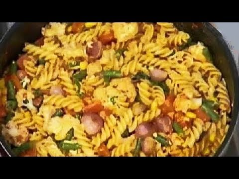 Khana Khazana – Chunky Vegetable Pasta Recipe by Sanjeev Kapoor