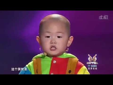Zhang Junhao, the amazing 3-year-old dancing boy in China