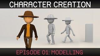 Blender – Character Modeling video tutorial