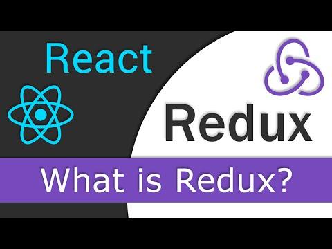 React JS / Redux Tutorial  - 1 - What is Redux?