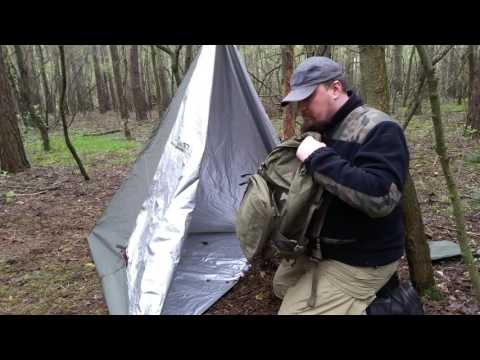 WJB 6 - Test Thermo Tarpa firmy Bushmen
