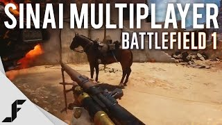 SINAI MULTIPLAYER GAMEPLAY - Battlefield 1