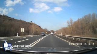 Nierstein Germany  City new picture : ROAD TRIP: From Nierstein to Frankfurt am Main / Germany / Dashcam / Autocam