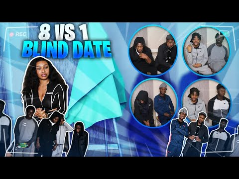 8 vs 1 BLIND DATES!! WHO WOULD YOU DATE!? ( WITHOUT SEEING THEM ) PART 2