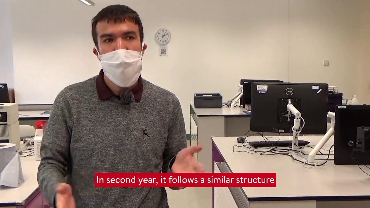 Video Thumbnail: Physics UG Lab