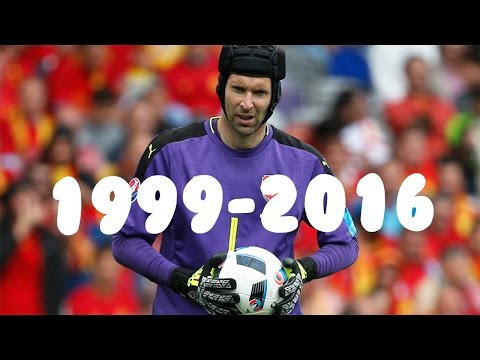 The best saves by Petr Čech 1999-2016 - HD