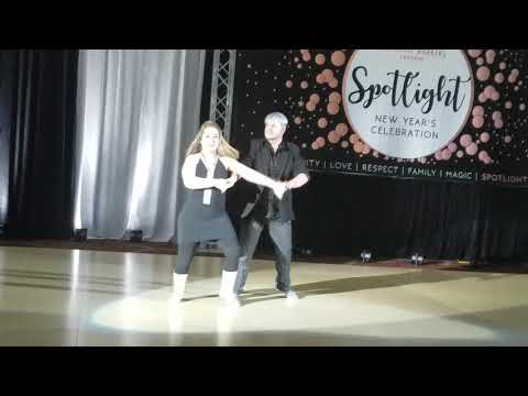 Spotlight NYE 2017. Jack & Jill Swing - Invitational - Final. Nelson Clarke & Colleen Uspensky.