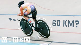 Video Why It's Almost Impossible to Ride a Bike 60 Kilometers in One Hour | WIRED MP3, 3GP, MP4, WEBM, AVI, FLV Juli 2019