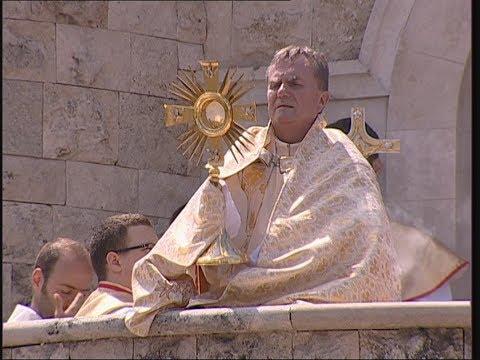 2018-06-03 2018-06-03 Vasárnapi szentmise a Gazdagréti Szent Angyalok Plébánián (Úrnapja)