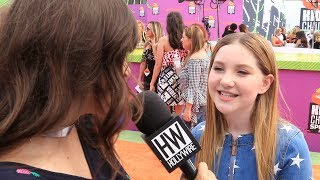 """Subscribe to Hollywire for The Latest Pop and Music News Updates!  http://bit.ly/Sub2HotMinuteWe caught up with Ella Anderson at the """"Kid Sports Choice"""" orange carpet who talked to us about the upcoming 4th Season of """"Henry Danger"""", as well as her role in """"The Glass Castle"""".Visit our website for all things celebrity  http://www.hollywire.com/Follow Hollywire!  http://bit.ly/TweetHollywireSend Carly a Tweet!  https://twitter.com/carlyhenderson_Follow Carly on Instagram!  https://www.instagram.com/carlyhenderson_/?hl=en"""