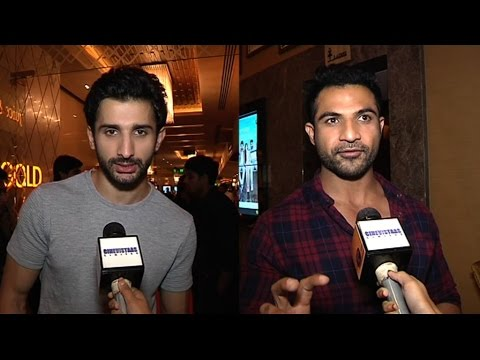 Sidhant Gupta and Mohammed Nazim at Days of Tafree
