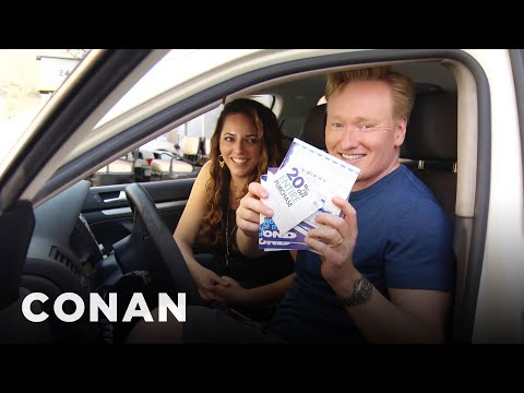 Conan O Brien Helps His Assistant Shop for a New