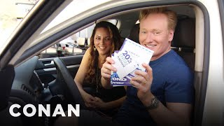 Video Conan Helps His Assistant Buy A New Car  - CONAN on TBS MP3, 3GP, MP4, WEBM, AVI, FLV Juli 2018