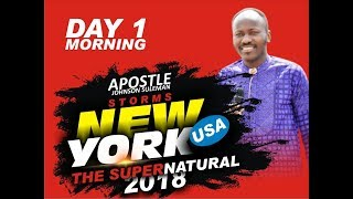 Download Video The Supernatural - BRONX, NEW YORK - DAY 1 Morning with Apostle Johnson Suleman MP3 3GP MP4