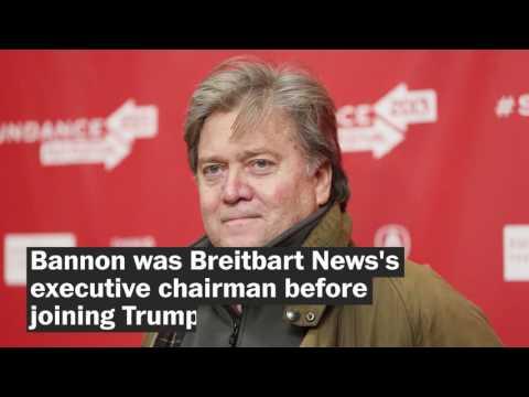 Meet Stephen Bannon, Trump's chief White House strategist