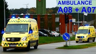 ambulance hovedstadens beredskab