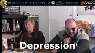 Amy lost a character during the Never Tell Me the Odds Star Wars game and immediately went through the Kübler-Ross Model's 5...
