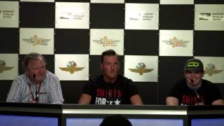Pat McAfee Sponsors Conor Daly At 2016 Indianapolis 500