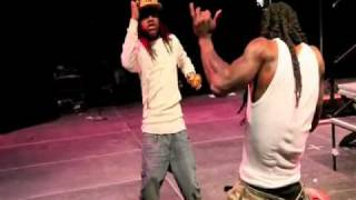 lil wayne and lil chuckie dance off!!!