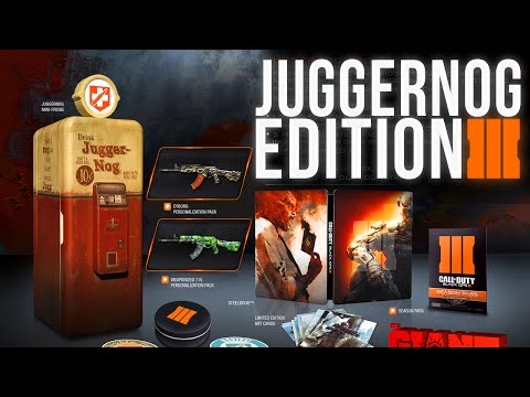 call of duty black ops 3 juggerngog limited edition!!