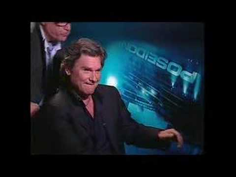 Kurt Russell - Chuck the Movieguy interviews Kurt Russell Richard Dreyfuss for the movie Poseidon.