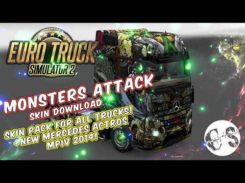 Monsters Attack Skin Pack for All Trucks