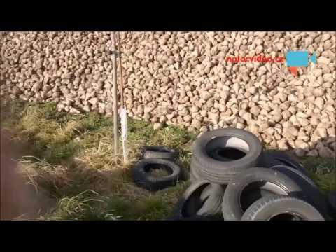 Skládka ojetých gum