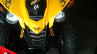 7. Can-am Bombardier DS 250 Sound Without a Muffler