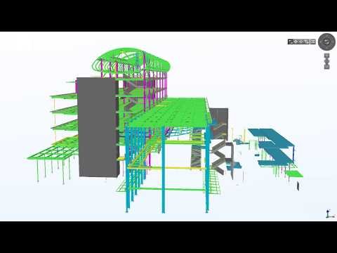 Tekla North America BIM Awards 2012 / Nu Skin Innovation Center (видео)