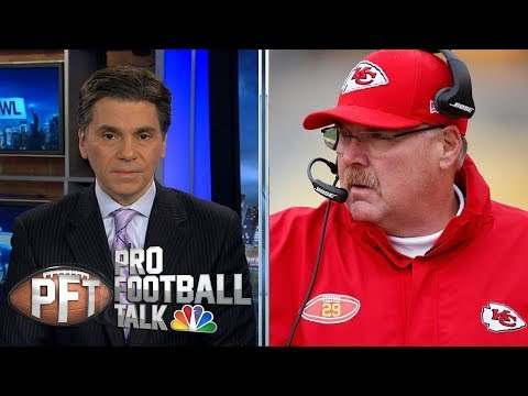 Video: Andy Reid, Jared Goff have most to prove in Divisional Round | Pro Football Talk | NBC Sports