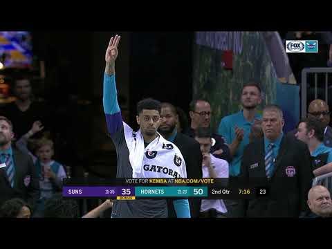 Video: Kemba Walker battles Devin Booker en route to Hornets' 135-115 win vs. Suns | NBA Highlights