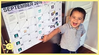 TIPS | Family Calendar (for Young Kids)