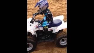 6. Brayden Reese Racing Suzuki Quadsport LTZ-50 1-27-2013